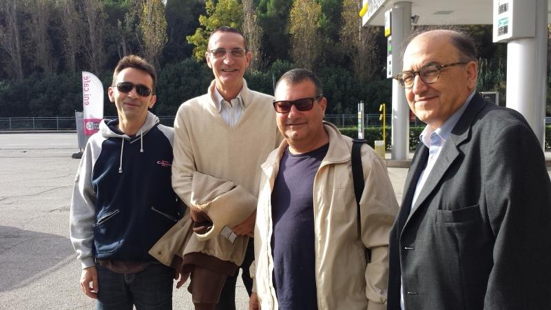 Dirigenti della Vasto Basket in partenza per Palermo